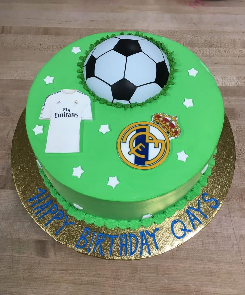 Outstanding Real Madrid Farhat Sweets Funny Birthday Cards Online Elaedamsfinfo