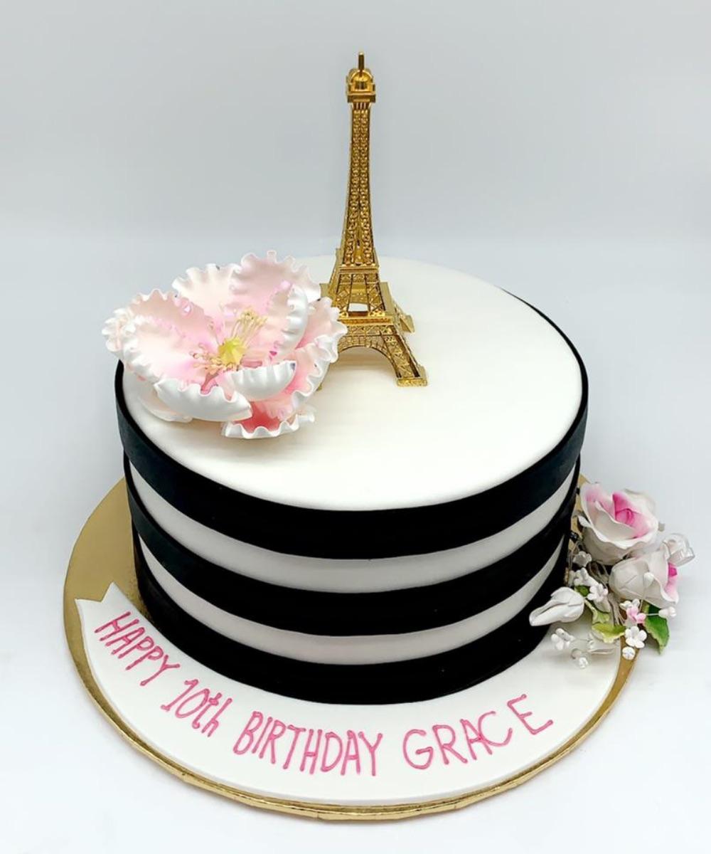 Groovy Eiffel Tower Farhat Sweets Funny Birthday Cards Online Aeocydamsfinfo
