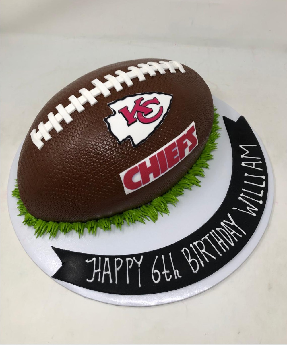 Remarkable Kansas City Chiefs Farhat Sweets Funny Birthday Cards Online Overcheapnameinfo